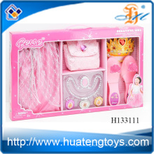 2014 Hot sale Fashion Beauty set Kids Toy Jewelry ,Dress Up Set for girl H133111