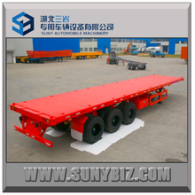 40ft 45ft Container Flatbed Semi Trailer