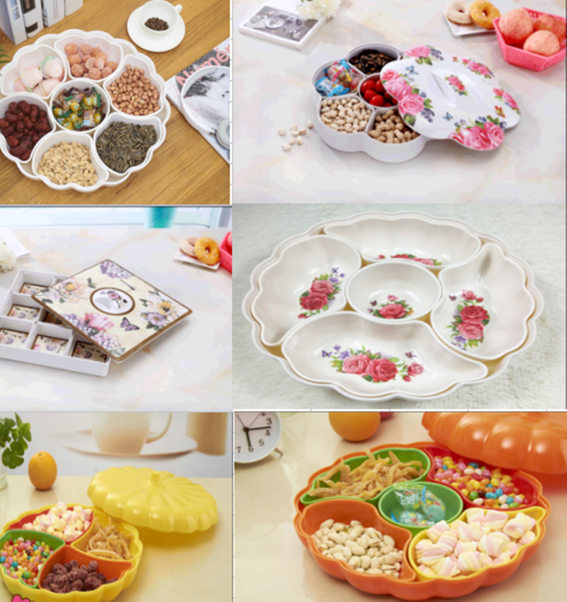 Plastic Appetizer Serving Tray
