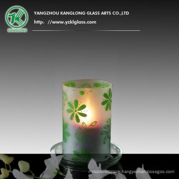 Glass Candle Votive (9X9X14CM)