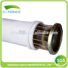 6/8 pulgadas Industrial filtro de bolsa de revestimiento de pulverización de jaula