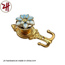 Hardware Clouth Plastic Curtain Robe Hook (ZH-8606)