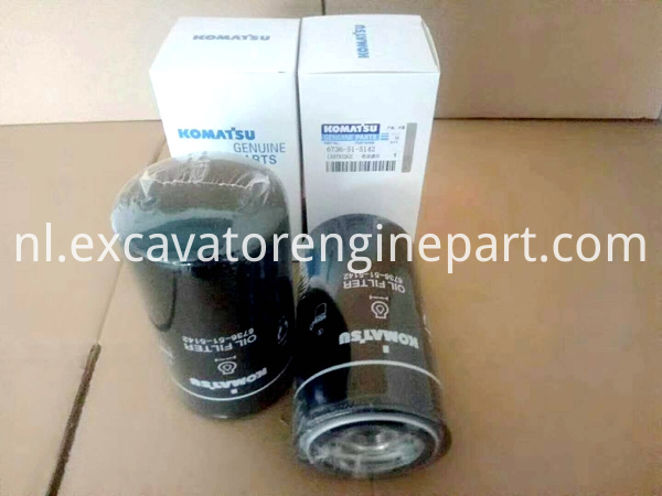 Pc220 8 Excavator Engine Oil Filter Cartridge 6736 51 5142