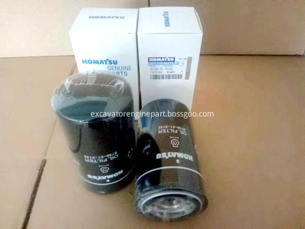 pc220-8 excavator engine oil filter cartridge 6736-51-5142