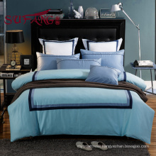 Luxury long stapled cotton hotels bedding 30S/40S/60S