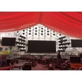 Outdoor Stage LED Display Performance Background
