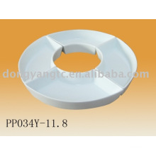 porcelain mixing plate