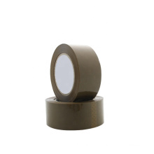 BOPP Material 52mm Width Activated Adhesive Brown Tape For Carton Packing