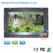 open frame type 1080p 7 inch lcd monitor with hdmi 12v dc input