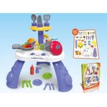 Set de juego de vajilla de cocina de plástico para niños más nuevo 2015 (10227695)