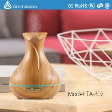Aromacare 400ml kostenlose Probe Ultraschall Holzmaserung Aromatherapie Luftbefeuchter Diffusor