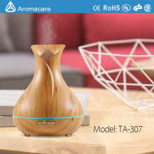 Aromacare 400ml Free Sample Ultrasonic Wood Grain Aromatherapy humidificador difusor