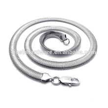 Wholesale Good Quality Stainless Steel Chain Flat Snake Chain