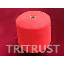 Hilado hecho girar poliéster para el hilo de coser