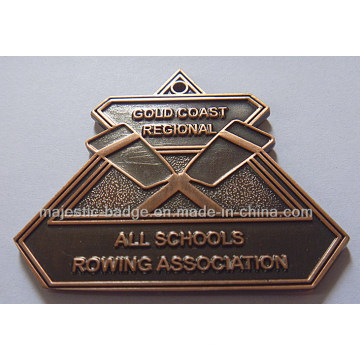 Customized Copper Plating Characteristic Medallion