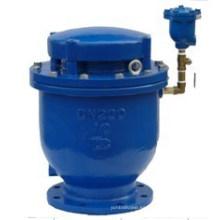 Válvula de aire de orificio grande automático de hierro dúctil
