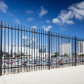 Galvanized+zinc+steel+fence