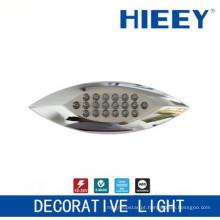 Lâmpada de colocação lateral do diodo emissor de luz lâmpada de chapeamento luz da placa luz decorativa com lente clara