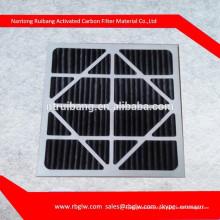 G3 G4 plissado filtro de ar da sala de filtros de ar de carvão ativado hvac