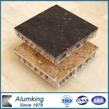 Panneau en nid d'abeille en aluminium pour mur intérieur