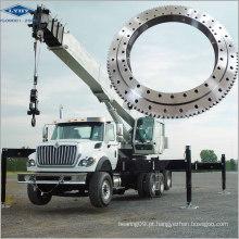 Rolamento de anel de giro de bola de contato de quatro pontos para caminhão de lança