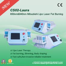 650nm diodo laser lipo lipo lipo emagrecimento máquina CS02
