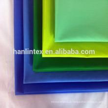 China fornecedor T / C 65/35 45X45 133X72 Tecido Twill Uniforme Tecido Tecido / Blanqueado Poliéster / Algodão