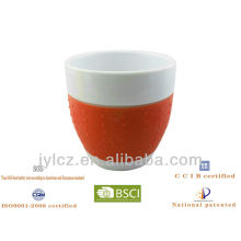 220cc belly shape cappuccino cup