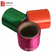 100% polyester fdy bright trilobal 120d dyed polyester color yarn
