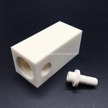 Customized alumina ceramic threaded parts