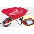 Popular Canada Wood Handle Wheelbarrow Wh6601