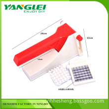 Stainless Steel Home French Fries Potato Chips Strip Cutting Cutter Machine Maker Slicer Chopper Dicer + 2 Blades
