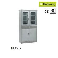 Mobilier d'hôpital pour armoire en acier inoxydable (HK1505)