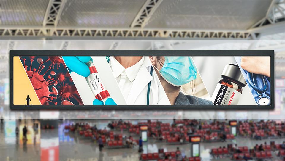 lcd advertising monitor