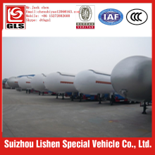 58.5m3 25ton tri-axle lpg tank trailer