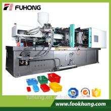 Ningbo fuhong 500ton automático completo plástico de frutas vegetais caixa de moldagem por injeção preço