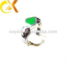 Los anillos de los hombres pulidos 316L de la joyería del acero inoxidable pulido