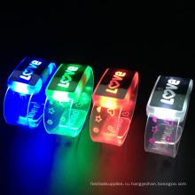 Любовь освещения светодиодный браслет для влюбленных