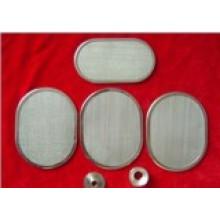 Malla para discos de filtro de acero inoxidable