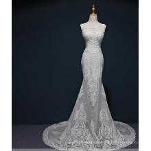Meerjungfrau Spitze Hochzeit Brautkleid