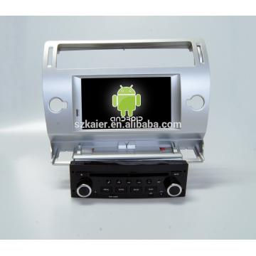Octa-core 7.1! Fabricante 7 '' Navegador del perseguidor de GPS del coche para Citroen C4 con radio Navegación wifi Mp3