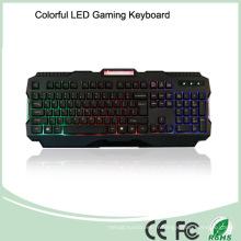 Matériaux ABS Les claviers de jeux multimédia lumineux (KB-1901-C)