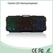 Grade um LED de jogo de teclado colorido com fio de qualidade superior (KB-1901EL-C)