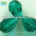 Perles de larme en verre stéréo à facettes en vrac perles 5500 couleur émeraude