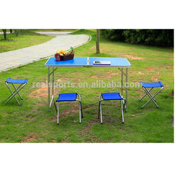 New Portable Folding Aluminium Table Adjustable Folding Table