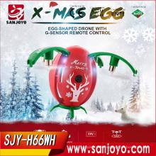 Товар H66 яйцо мини-Дрон с fpv G-сенсор RC Дрон с 720p WiFi камера RC горючего 2.4 ГГц Безголовый режим высоты против Ч37 H47