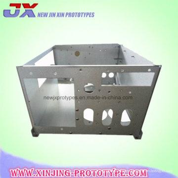 Modificado para requisitos particulares CNC estampado Metal de hoja partes de aluminio/acero