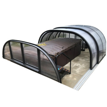 UsedFor Sale Polycarbonat Air Dome Pool Abdeckung Schwimmen