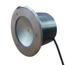 Outdooor Ground IP67 10W RGB blanco LED subterráneo para jardín / plaza / patio / césped