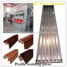 Máquina de la prensa caliente de los mouds del mdf / molde de la melamina que hace la máquina